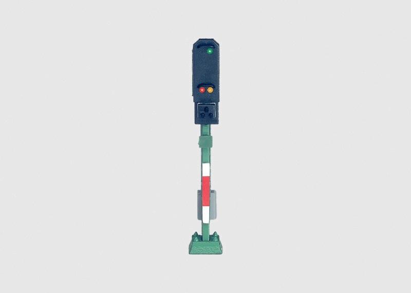 Licht-Einfahrsignal 34 mm Höhe Spur Z