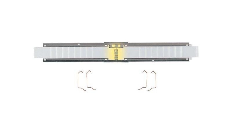 Innenbeleuchtung für den ICE 2-Steuerwagen, Spur N