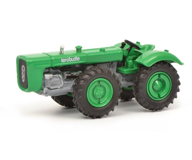 Dutra D4K ohne Kabine, grün, 1:87 / Spur H0