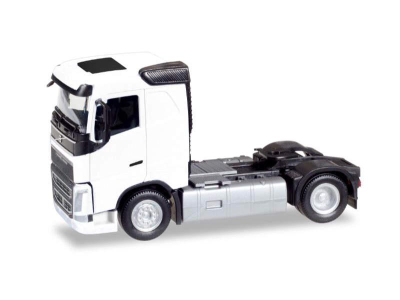 Volvo FH Zugmaschine, weiß, 1:87 / Spur H0