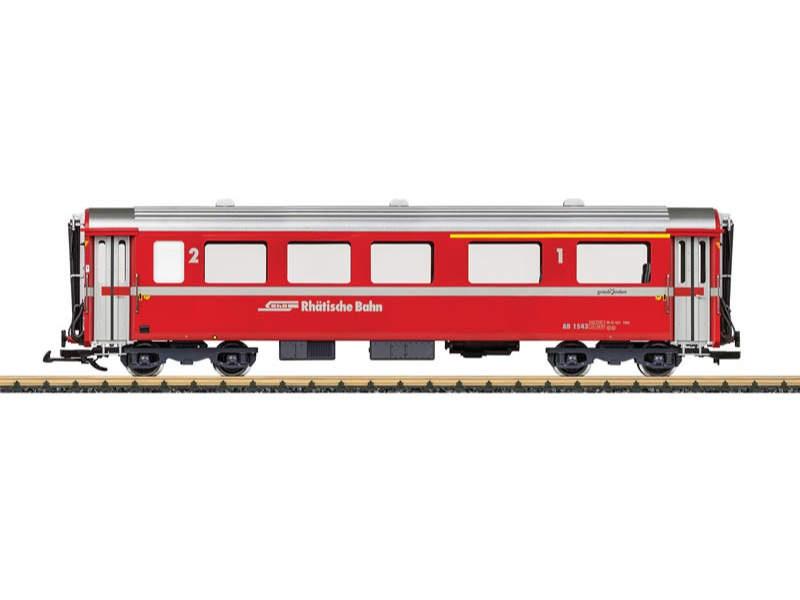 RhB Schnellzugwagen 1./2. Kl. AB 1543 Spur G