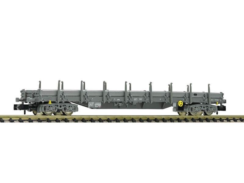 Flachwagen mit Seitenborden Bauart Res der SBB, DC, Spur N