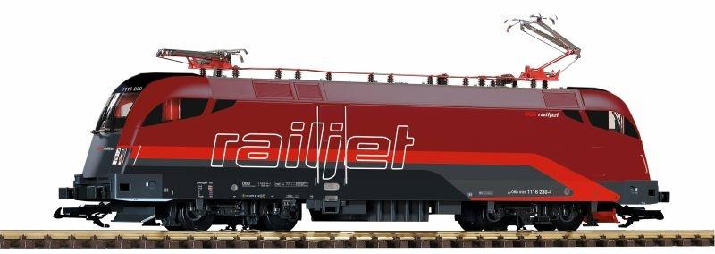 Sound-E-Lok Taurus Rh 1116 der ÖBB Railjet, Ep. VI, Spur G