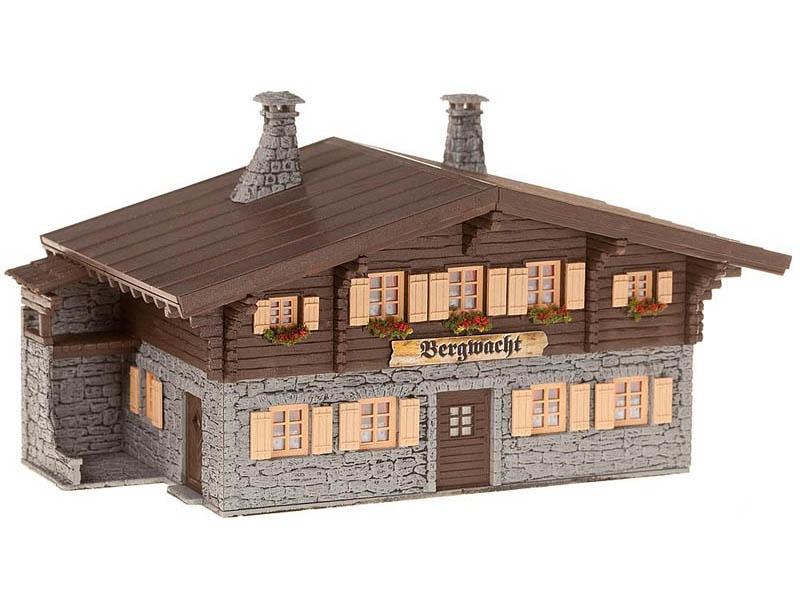 Bergwachthütte Bausatz H0