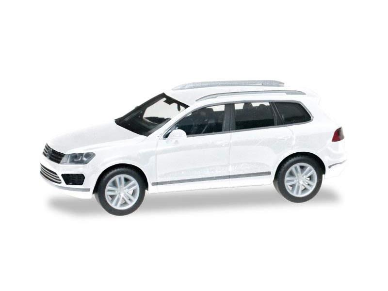 VW Touareg, pure white, 1:87 / H0