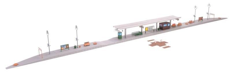 Bahnsteig Altbach Bausatz, Spur H0