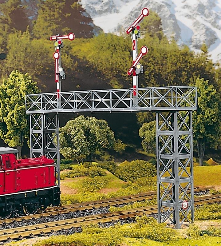 Signalbrücke Rosenbach, Bausatz, Spur G