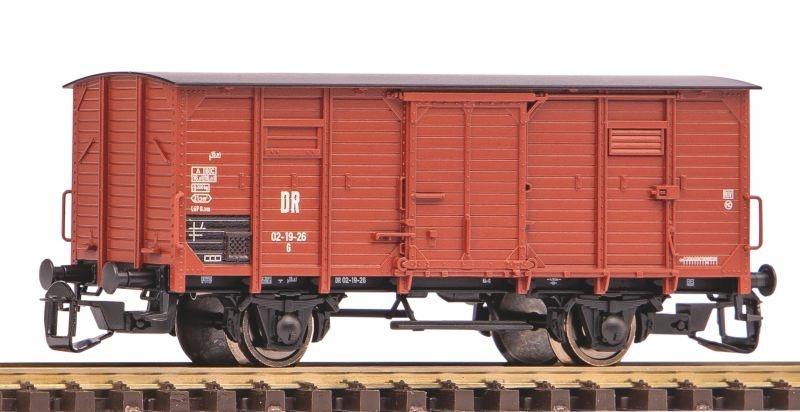 Gedeckter Güterwagen G02 DR III ohne Bremserhaus, Spur TT