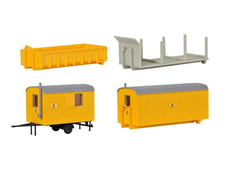 Baustellengeräte, Bausatz, Spur H0