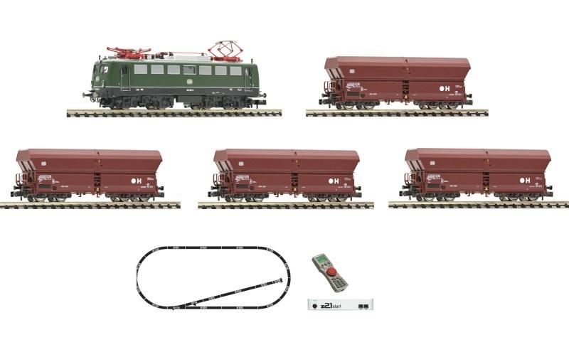 z21 start Digitalset: E-Lok BR 140 mit Güterzug, DB, Spur N