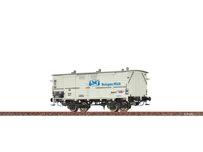Güterwagen Gh 03 DB, III, Breisgau Milch, DC, Spur H0