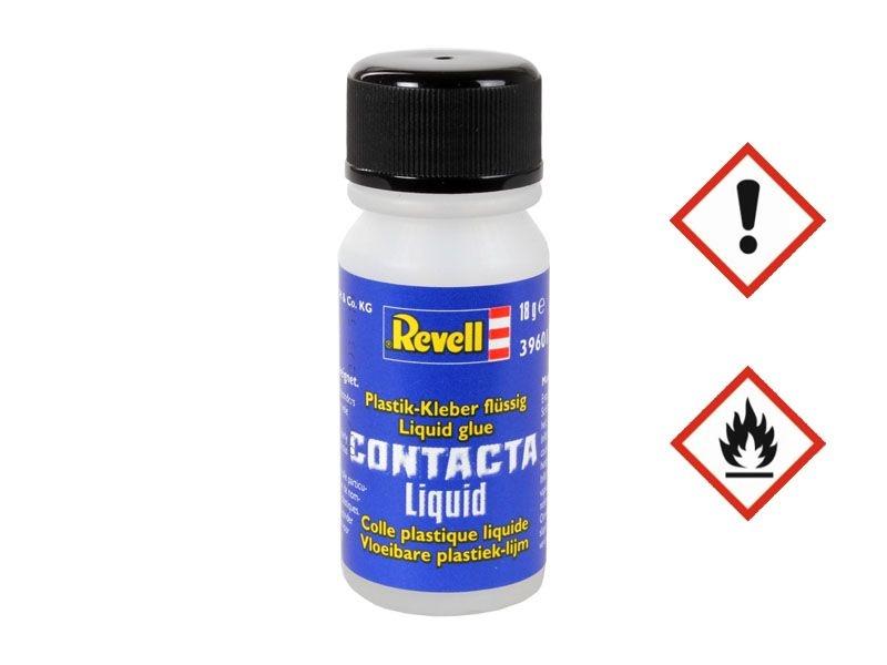 Contacta Liquid mit Auftragepinsel - Plastikkleber (18 g)