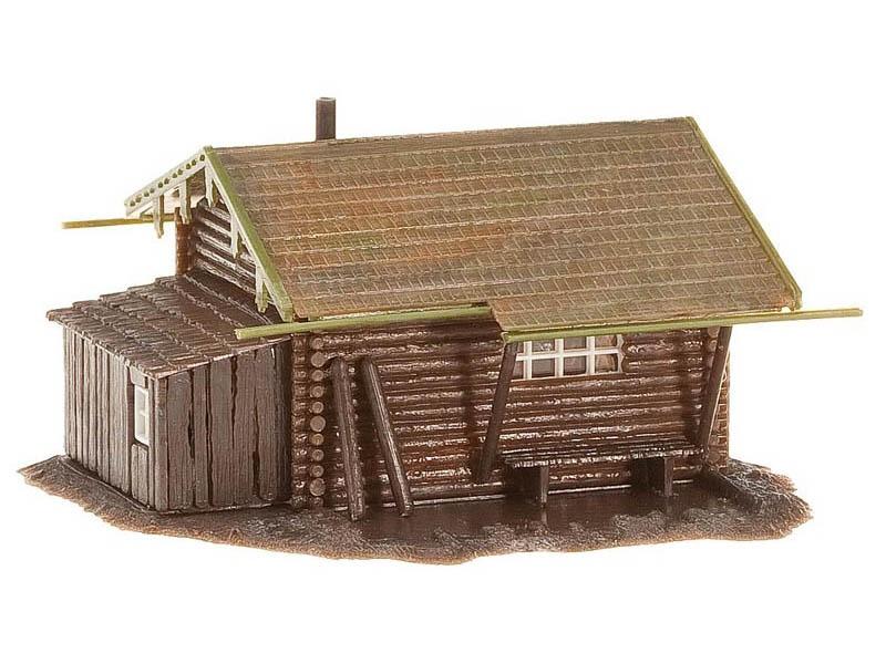 Waldhütte Bausatz H0
