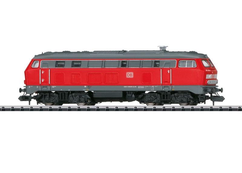 Diesellok BR 218 der DB AG, Sound, mfx, DCC, Minitrix Spur N