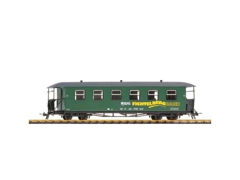 Personenwagen 970-631 2. Kl. Fichtelbergbahn der SDG, H0e
