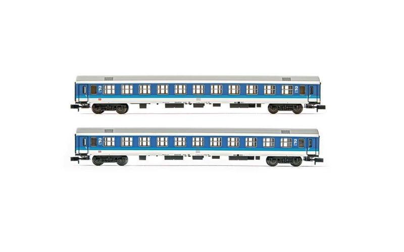 2-tlg. Set Reisezugwagen der DB, Bomz236 in InterRegio, N