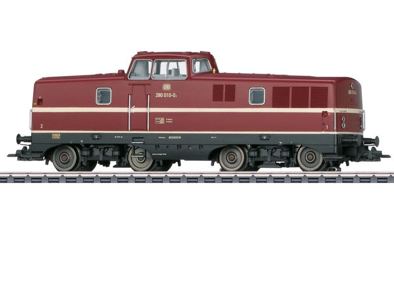 Diesellokomotive BR 280 der DB, mfx+, Sound, AC, Spur H0
