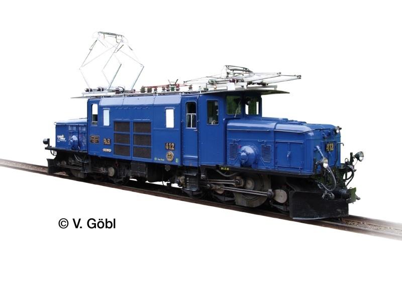 Elektrolok Ge 6/6 I 412 der RHB, Sound, mfx, DCC, Spur G