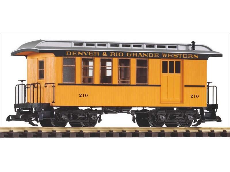 Personen-/Packwagen der Denver & Rio Grande Western, Spur G