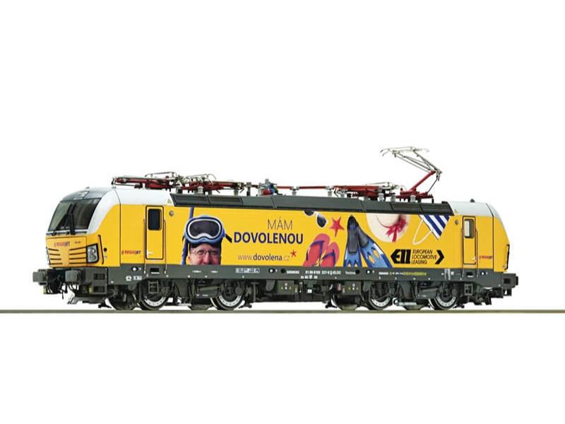 Elektrolokomotive 193 227 der Regiojet, Sound, DC, Spur H0