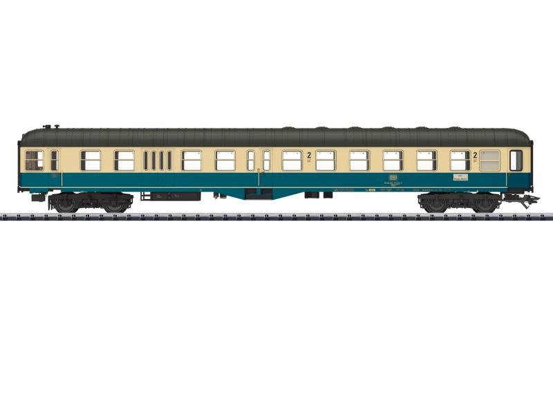 Steuerwagen BDylb 456 2. Klasse der DB, DC, Spur H0