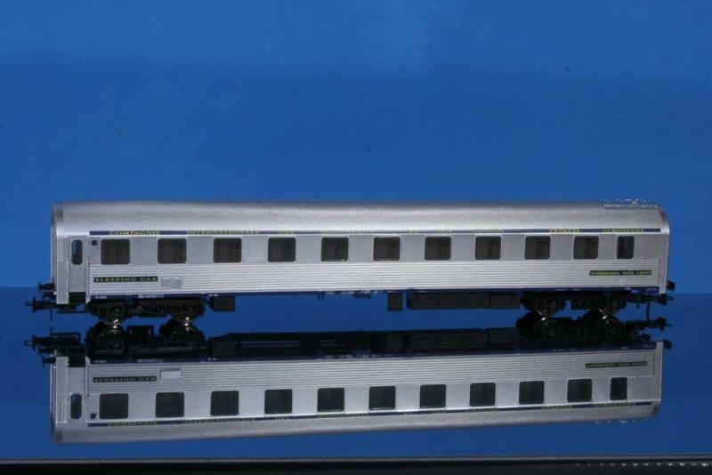 Schlafwagen, Inox, Typ P, C.I.W.L., SNCF, III, DC, Spur H0