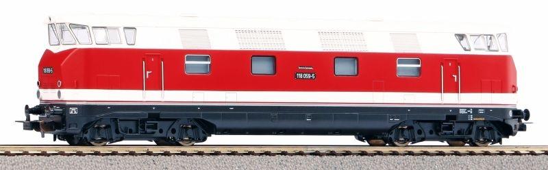 Sound-Diesellok 118 059-5 GFK der DR, Ep. IV, DC, Spur H0