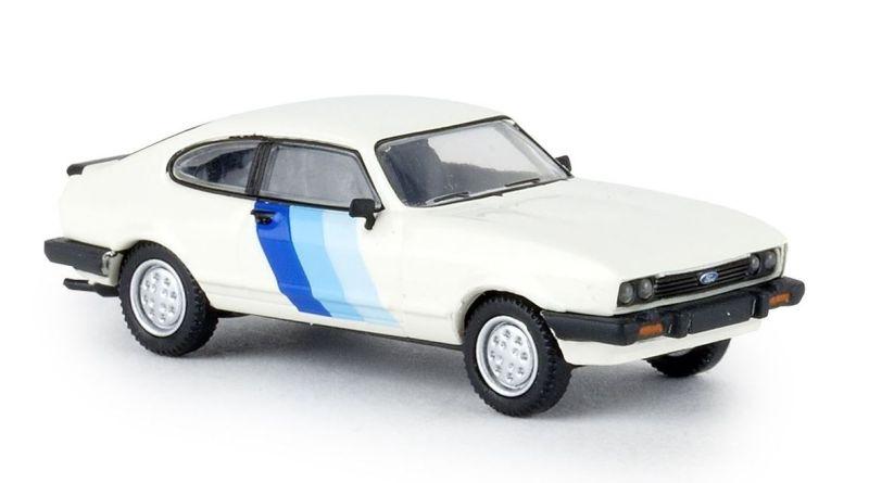 Ford Capri RS, weiß, TD, Spur H0