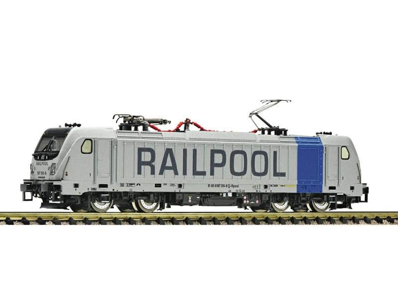 Elektrolokomotive BR 187 Railpool, DCC, DC, Spur N