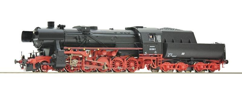 Dampflok BR 52 der DR, Henning-Sound, DC, Spur H0