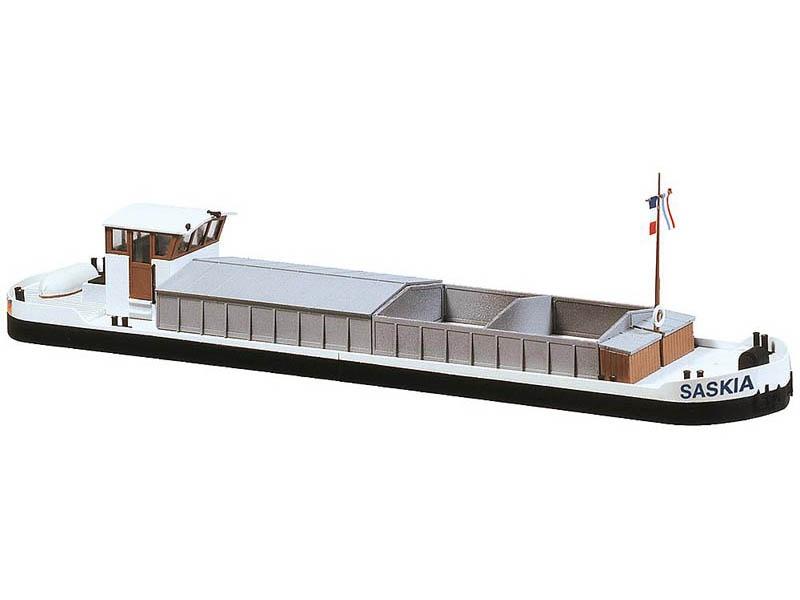 Motorlastkahn Bausatz H0