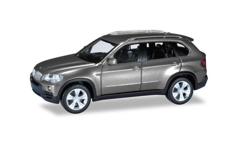 BMW X5, spacegrau metallic, 1:87 / Spur H0