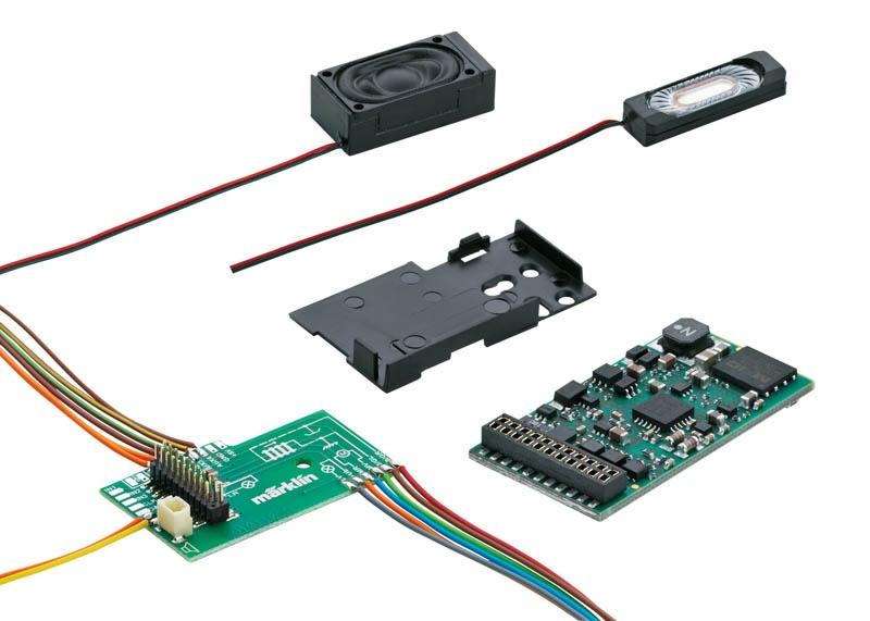 SoundDecoder mSD3 21-polig mit Dampflok Sound H0