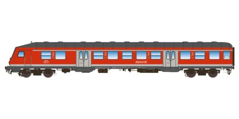 n-Wagen, Bnrdzf 483.1, Steuerwagen, DB, verkehrsrot, DC, H0