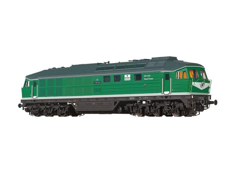 Diesellokomotive BR 232 der Wismut AG, DC, Spur N