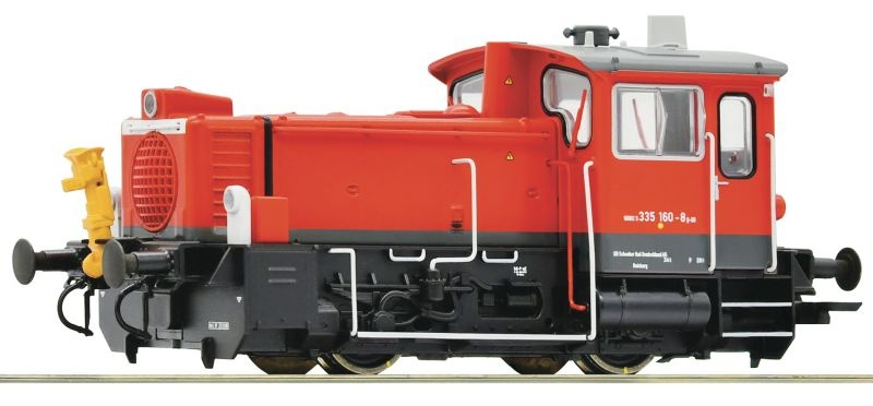 Diesellokomotive 335 160-8 der DB AG, DC, Spur H0