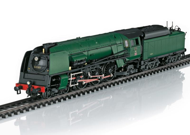 Dampflokomotive Reihe 1 der SNCB, Sound, mfx, DC, Spur H0