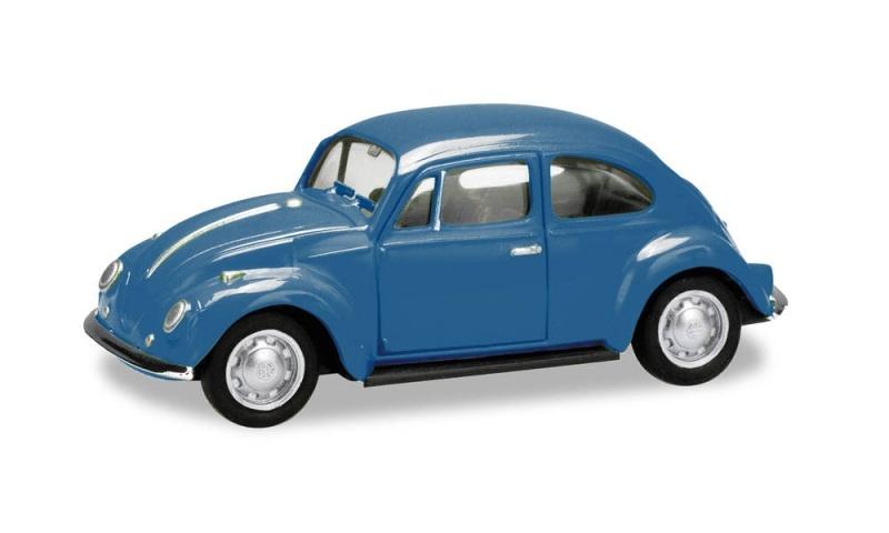 VW Käfer, brillantblau, 1:87 / Spur H0