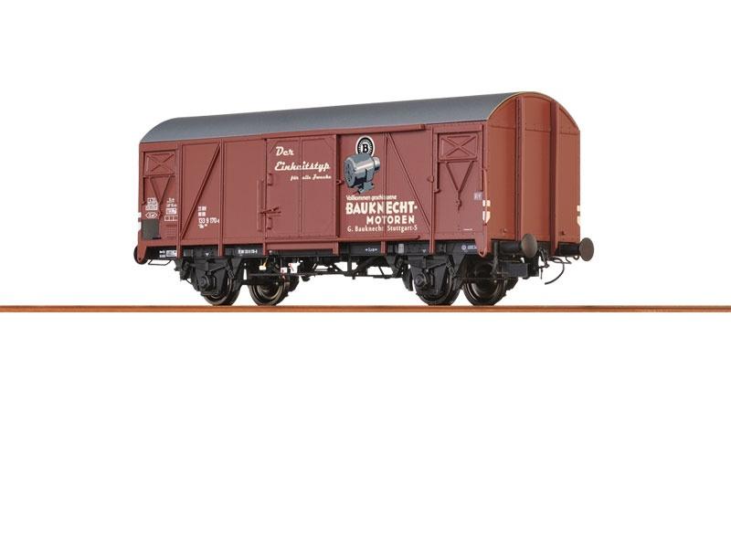Gedeckter Güterwagen Gms 54 Bauknecht der DB, Spur H0