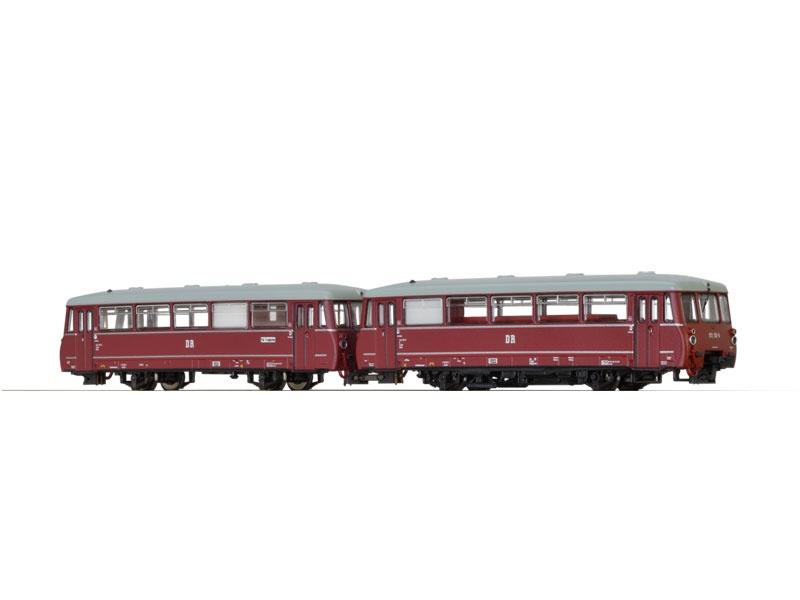 Verbrennungstriebwagen VT172 der DR, IV, Sound, DC, Spur N