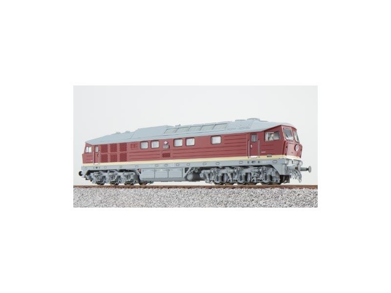 Diesellok BR 132 547 der DR, Epoche IV, bordeauxrot, H0