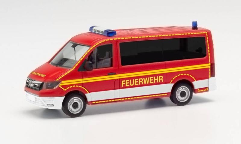 MAN TGE Bus FD MTW Feuerwehr, 1:87 / Spur H0