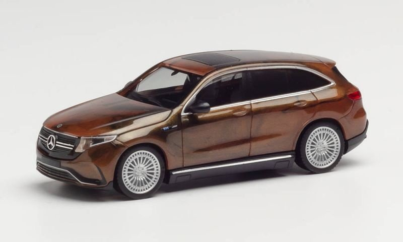 Mercedes-Benz EQC, marmoriert, Spur H0, 1:87
