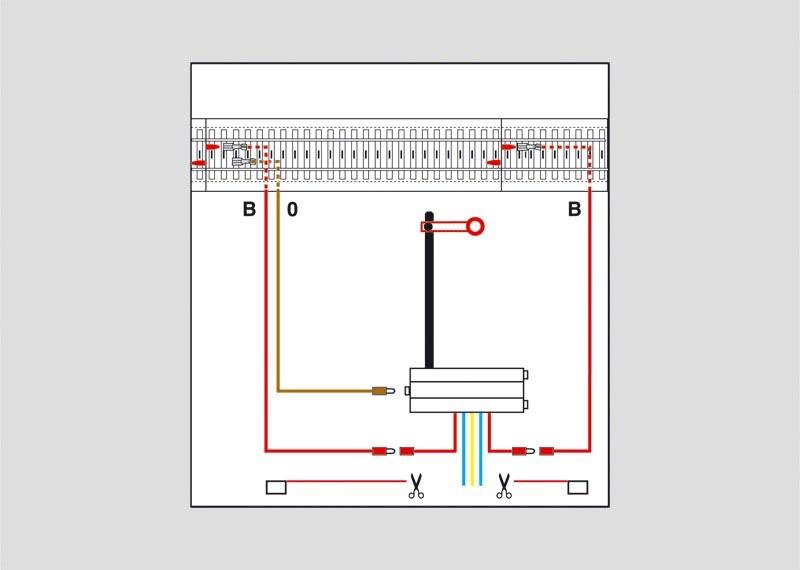 Signal-Anschlussgarnitur zum C-Gleis H0