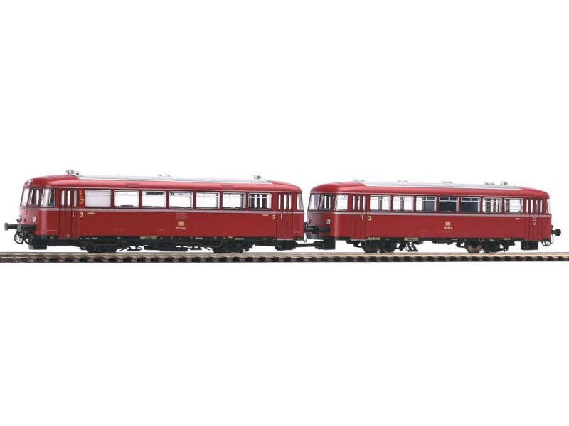 Schienenbus 798 + Steuerwagen 998.6 der DB, Epoche IV, H0