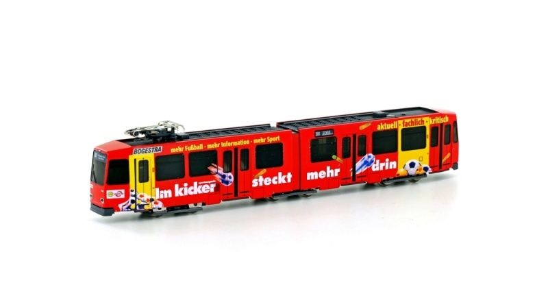 Straßenbahn Düwag M6 BOGESTRA Kicker Ep. IV-V, Spur N