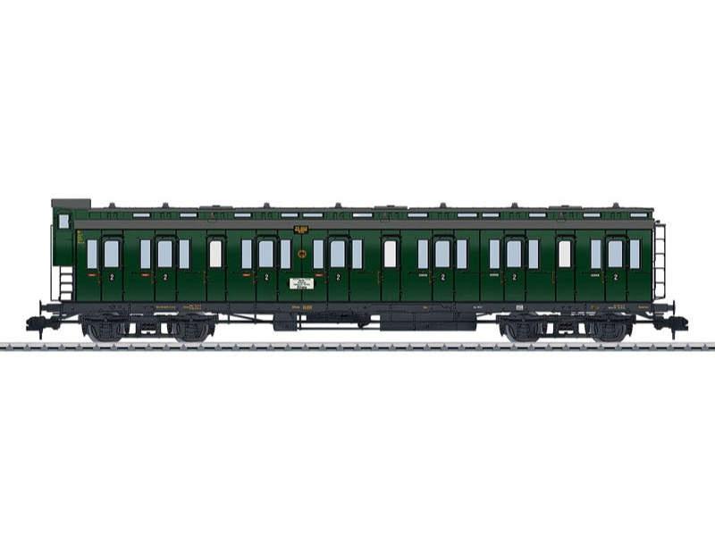 Abteilwagen B4 Pr 04 2. Klasse DRG Spur 1