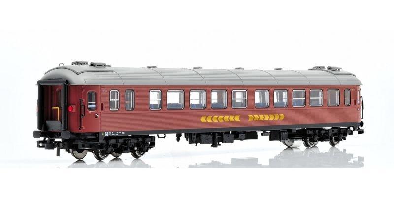Topline Personenwagen B1F.4733 2 Klasse der SJ,Inter-City,H0