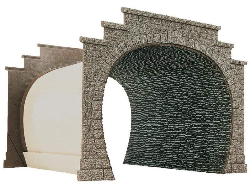 Tunnelröhrenplatte, Spur H0