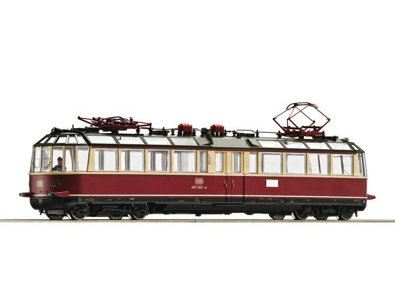 Elektrischer Triebwagen 491 001-4, DB, DC, Spur H0
